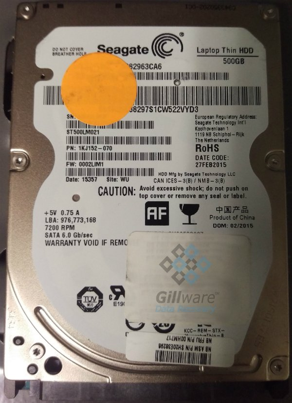 Seagate hard drive recovery